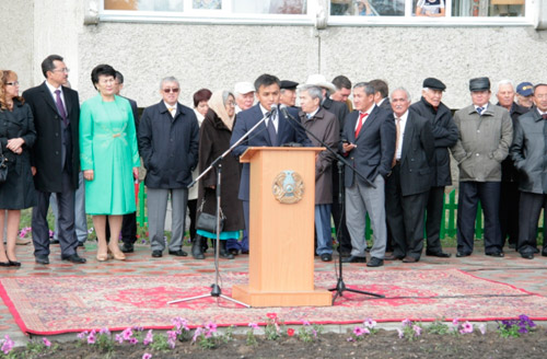 В Петропавловске открыт новый сквер
