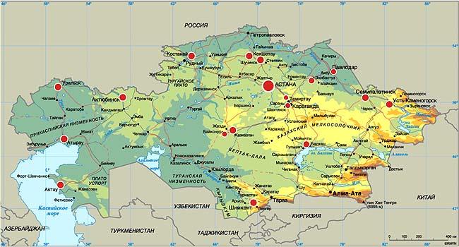 Карта гастролей